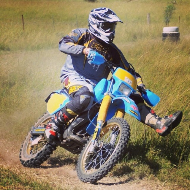 #yamaha #it200 #yamahait at the Denman #vinduro #vmx #vintagebike #vintageenduro #vintageyamaha #enduro #dirtbike