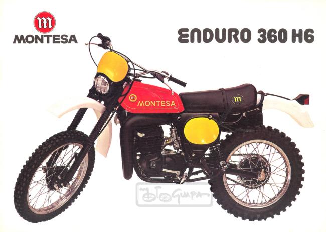 1978 Enduro 360H6 a