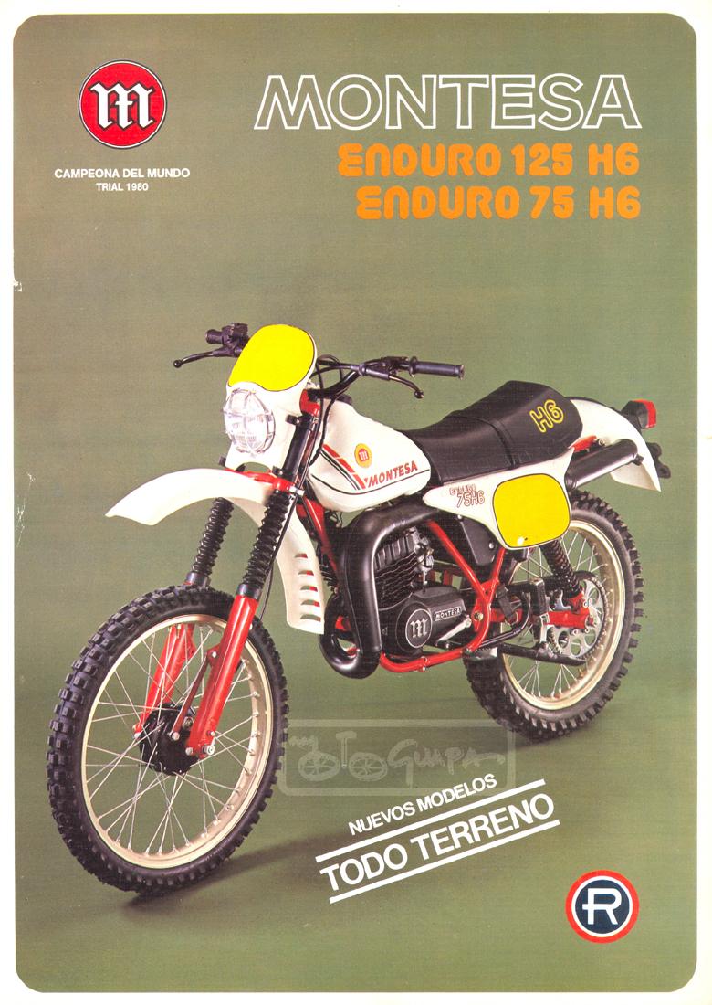 1979 Enduro 125H6 a