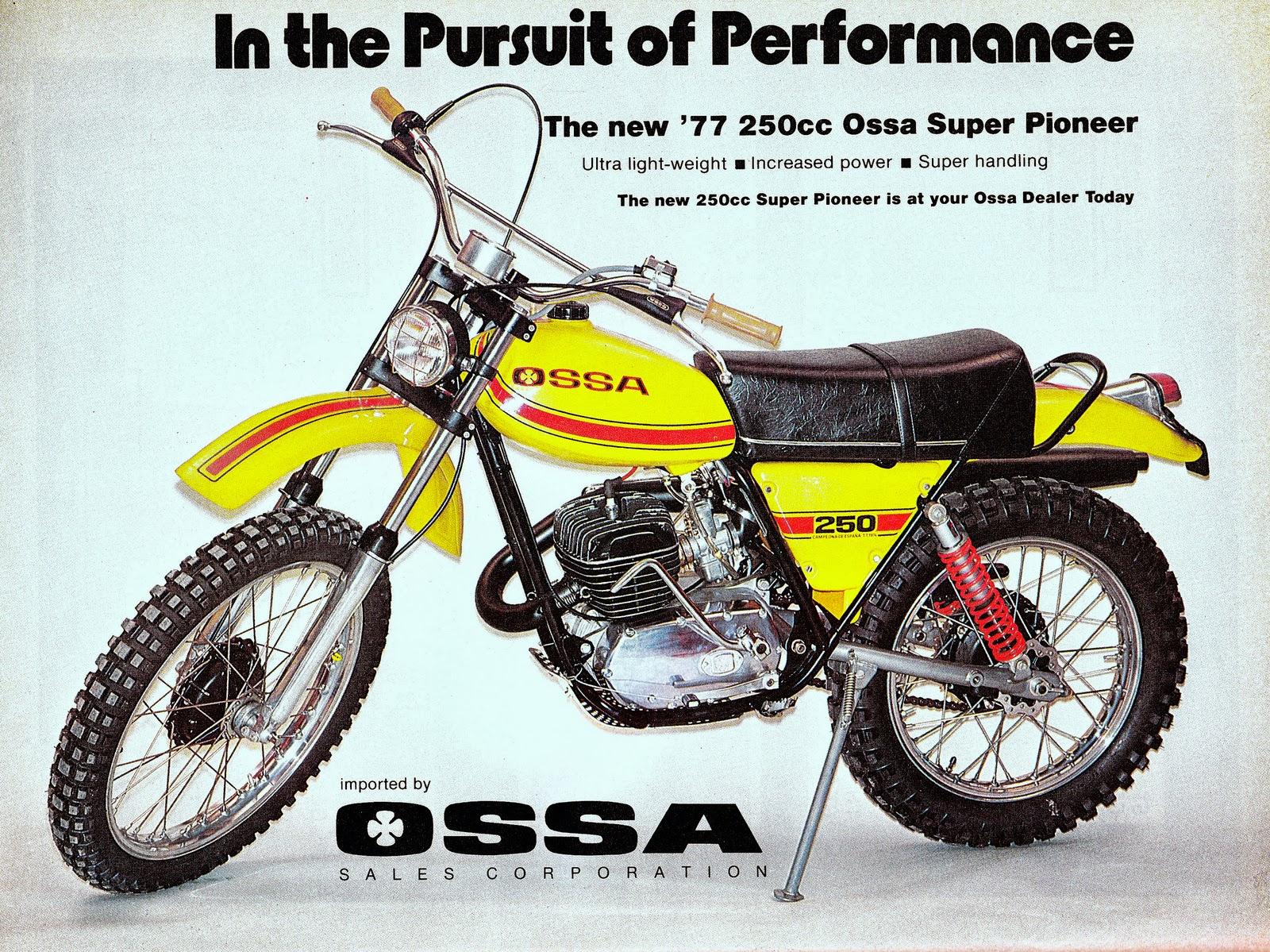Ossa 250 Super Pioneer 1977 Vinduro